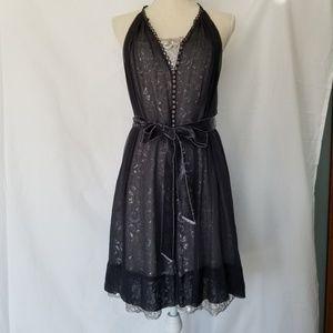 BCBGMaxAzria Dresses - BCBGMaxAzria Size 2 Navy Blue Cocktail Dress